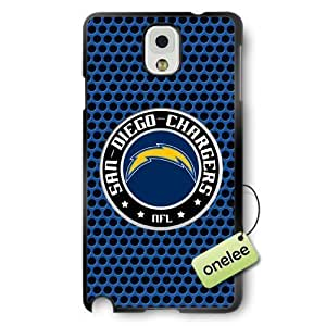 NFL San Diego Chargers Team Logo For HTC One M9 Case Cover Black PC(Hard) SoftBlack