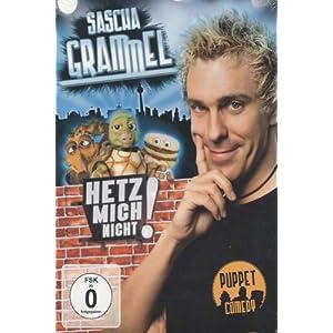 DVD Sascha Grammel - Hetz mich nicht!