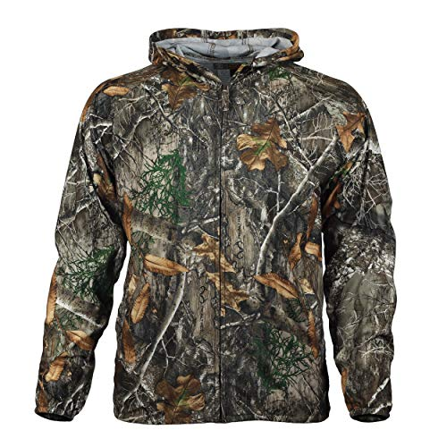- Gamehide Elimitick Insect Repellent Cover Up Jacket (X-Large, Realtree Edge)