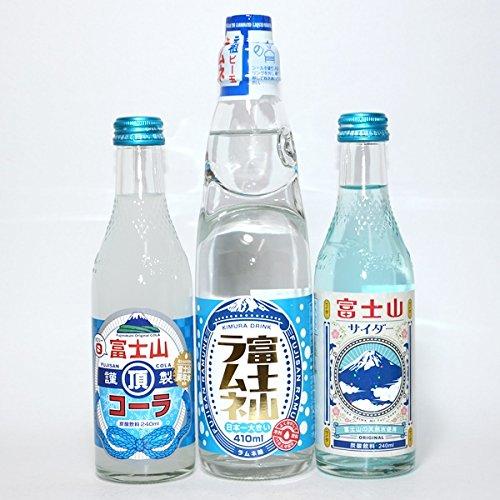 富士山系列碳酸飲料