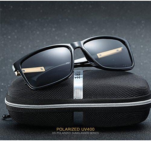 Gafas Mujer para 400 Protección para C1 Polarizadas De C1 Sol Hombre Aviator UV XArXBq