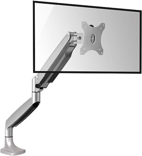 ucofor twm001 aluminio escritorio solo brazo soporte de pared para televisor soporte de pared para 13