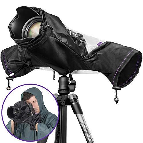 Cubierta de lluvia profesional para cámara Canon Nikon Sony