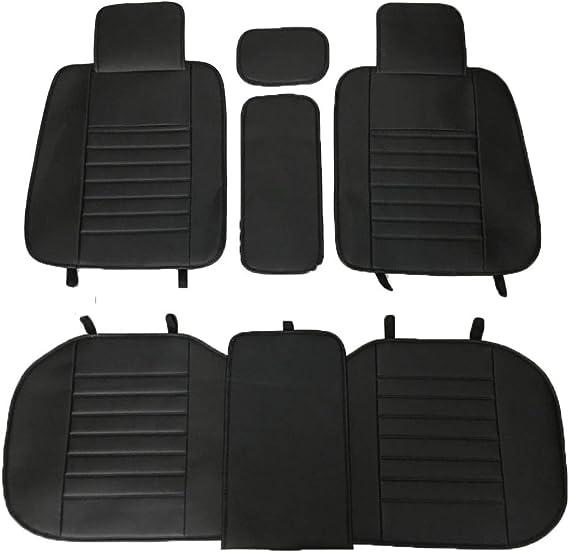 Kit de Protections Avant et arri/ère universels pour Seat Cover 13PC Noir pour a3 8L 8p 8v Sportback a4 b5 b6 b7 b8 b9 a5 Sportback a6 c5 c6 c7 4f