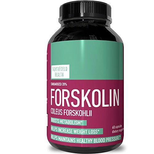 Forskolin Pure - Supplement For Men & Women - Workout Enhancer Pills - Appetite Control + Promotes Weight Loss - Testosterone Booster - Lean Muscle Builder - Natural Fat Burner by Northfield Health