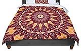 KESS InHouse Iris Lehnhardt ''Colors of Africa'' Brown Orange Twin Comforter, 68'' X 88''