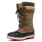 c397837cb90 3 · DREAM PAIRS Women s Monte 02 Brown Mid Calf Winter Snow Boots Size 7