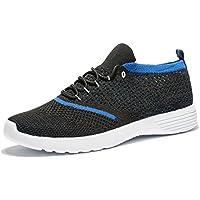 [Patrocinado] tianui Hombres Moda transpirable zapatillas Casual Athletic ligero Zapatillas de running para–Zapatos de Senderismo