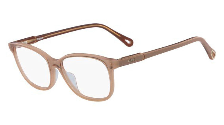 9a02977ec34 Eyeglasses CHLOE CE 2728 749 PEACH PEACH at Amazon Men s Clothing store