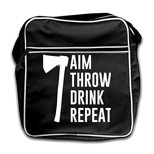 Aim Bag Black Throw Drink Retro Flight Repeat AqBAr8wU