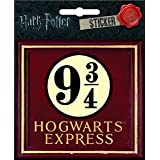 Harry Potter - 9 3/4 Hogwart's Express - Die Cut Vinyl Sticker Decal