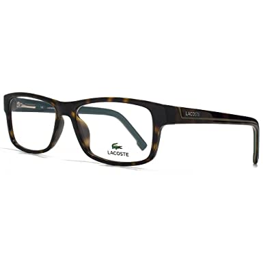 7317f82a22d Lacoste L2707 Glasses in Havana L2707 214 53  Amazon.co.uk  Clothing