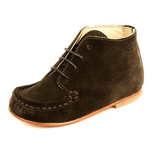 Joojos Classic Brown Infant / Toddler Leather Shoes Brown for Boys and Girls - Size: EU 20 / US 4