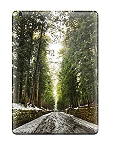 Hot Style OhSLwfr1674YXjAB Protective Case Cover For Ipadair(old Forest After Snow Melt Digital)