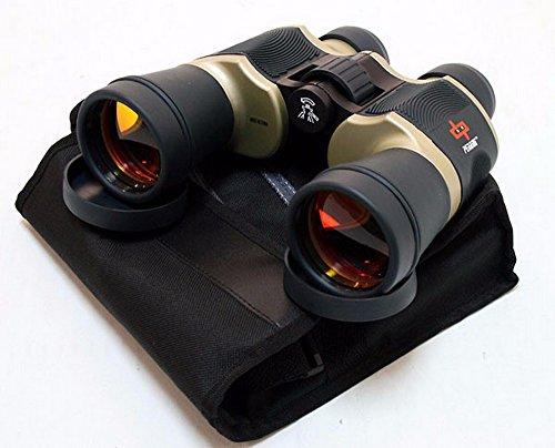 [Day/Night 20x60 Binoculars Outdoor Bronze Binocular Hunting Camping w/Pouch] (Diy Costumes Kids)