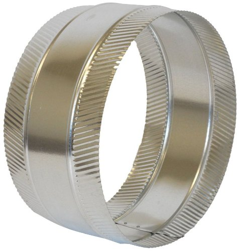Collar Duct Round - Speedi-Products FDSC-10 10-Inch Diameter Flex and Sheet Metal Duct Splice Connector Collar