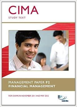 cima f2 study text pdf