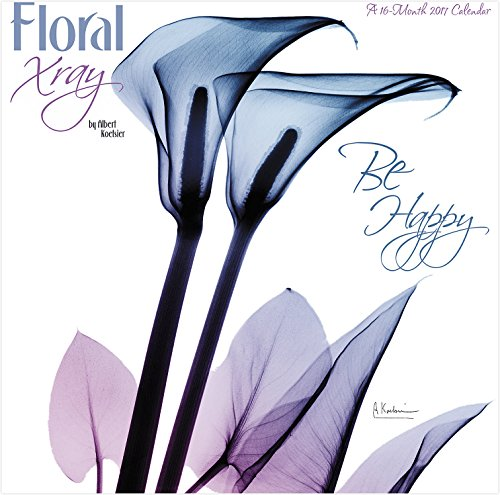 Floral Xray 2017 Wall Calendar
