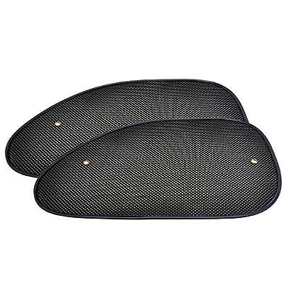 2pcs Premium Car Sun Shade Side Window Windscreen Cover Visor Shield Screen Fold Tailored for Car Motors Auto Vehicle