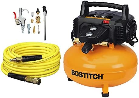BOSTITCH Air Compressor Kit, Oil-Free, 6 Gallon, 150 PSI BTFP02012-WPK