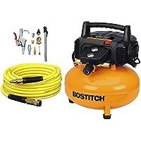 Bostitch BTFP02012-WPK 6-Gallon 150 PSI Oil-Free Compressor Kit + Brad Nailer