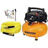 BOSTITCH BTFP02012-WPK 6-Gallon 150 PSI Oil-Free Compressor Kit