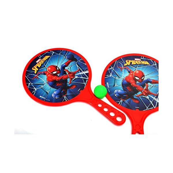 Racchettoni Spider-Man (cm 37x24) in plastica 3 spesavip
