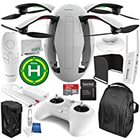 PowerVision PowerEgg Drone with 360 Panoramic 4K HD Camera and 3-axis Gimbal with Maestro Starters Accessory Bundle