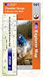 Explorer Map 141: Cheddar Gorge and Mendip Hills West by Ordnance Survey front cover