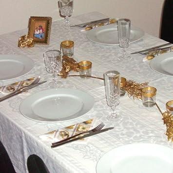 Tischdeko Goldene Hochzeit 50 Jahre Komplette Tischdekoration