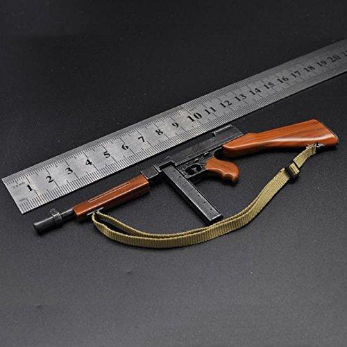 Figure Accessories 1/6 Weapon TOMPSEN M1A1 Figure Thompson Submachinegun Fit For 12