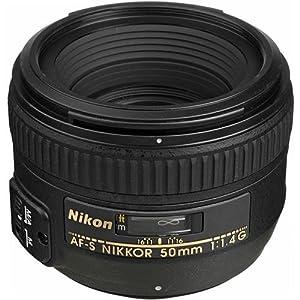 Nikon 50mm f/1.4G SIC SW Prime AF-S Nikkor Lens for Nikon Digital SLR Cameras