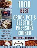 1000 slow cooker recipes - PRESSURE COOKER: CROCK POT: SLOW COOKING: 1000 Best pressure cooker, crock pot and slow cooking recipes box set (pressure cooker recipes, slow cooking, slow cooker, crock-pot meals, instant pot)