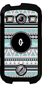 Case for Samsung Galaxy Xcover 2 (S7110) - Monogram - tribal pattern *G* by ruishername