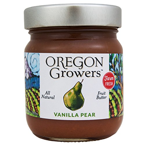 Oregon Growers & Shippers Vanilla Pear Butter 12 oz.