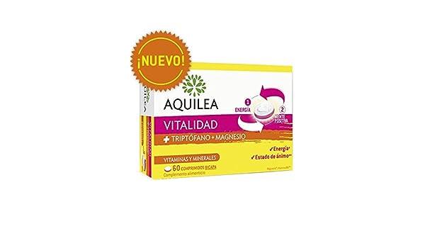 AQUILEA VITALIDAD TRIPTÓFANO+MAGNESIO 60 COMP BICAPA: Amazon.es: Salud y cuidado personal