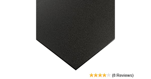 "BLACK MARINE BOARD 1//4/"" X 24/"" X 54/"" POLYMER HDPE SEA PLASTIC SHEET"
