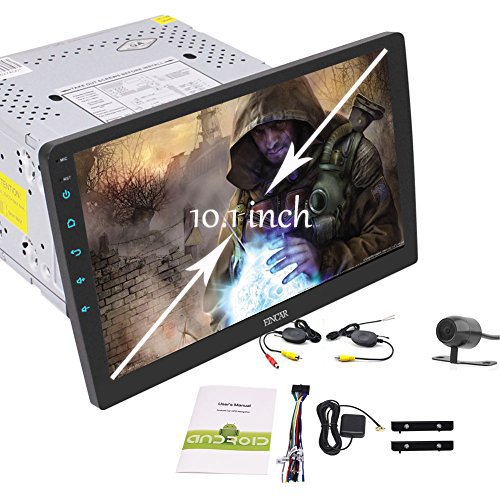New Designed 10.1 inch HD Large Full-touch Screen Car Stereo Android 6.0 System GPS NO DVD Player Bluetooth Radio Support SUB/Video Output Mirrorlink Steering Wheel Control+ Wireless Backup - Use Can Points You Boots Online