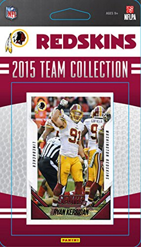 Washington Redskins 2015 Score Factory Sealed Complete Mint 13 Card Team Set Including Kirk Cousins, Robert Griffin, Alfred Morris Plus ()