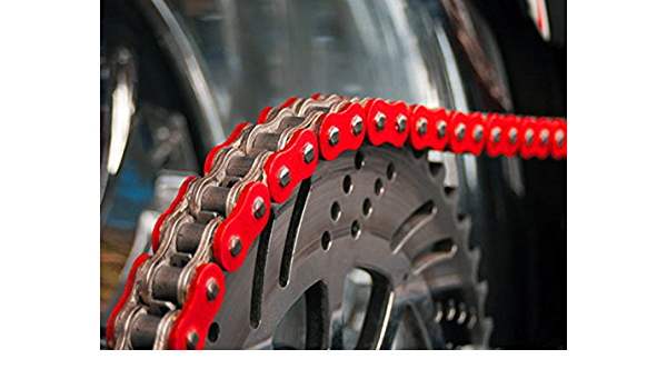 spez ialver Cadena reforzada Rojo para Honda TRX 700: Amazon ...
