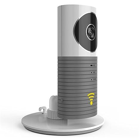Ahece - Cámara de Vigilancia con WiFi / Wlan, cámara de seguridad inalámbrica con visión nocturna / sensor de movimiento / función de interfono para casa ...