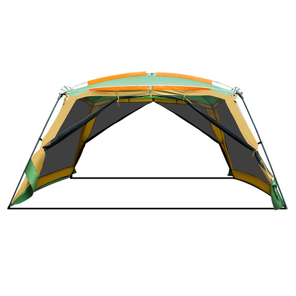 TENT-L ZP Zelt, Outdoor Pergola Camping 8-10 Personen Grill Markise Strand Regendicht Zelt huwaizhangpeng (Farbe : Gelb)