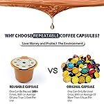 Letilio-Confezione-da-2-capsule-di-caff-riutilizzabili-ricaricabili-per-Nespresso-con-2-cucchiai-in-plastica-e-spazzole-per-la-pulizia