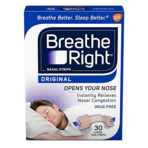 Breathe Right Nasal Strips 30 Count product image