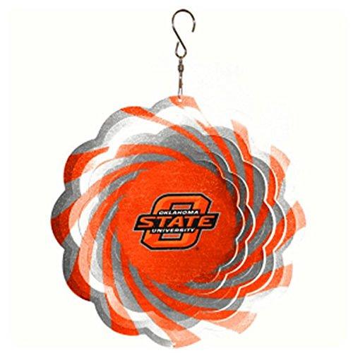 NCAA Oklahoma State Cowboys 10'' Geo Wind Spinner ()