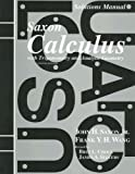 Solutions Manual to accompany Saxon  Calculus with Trigonometry and Analytic Geometry