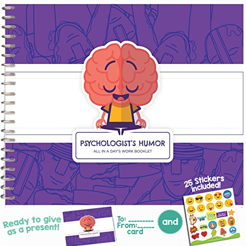 PSYCHOLOGY GIFTS - Funny Booklet to Say Thank You To Your Favorite Psychologist, Psychiatrist, Psychotherapist, Psychoanalyst | Extremely Easy-To-Fill and Thoughtful Gift Ideas! (1)