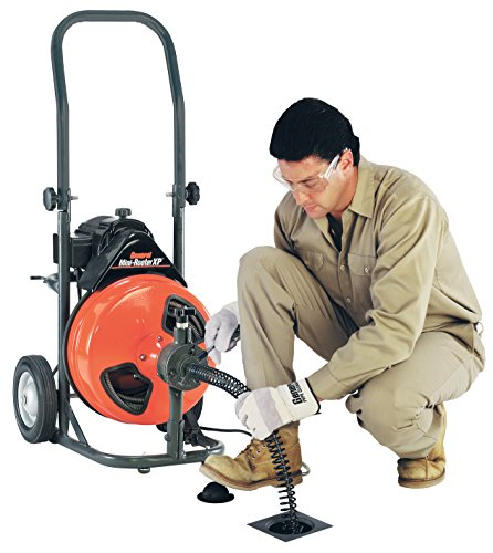 Sewer Cable Feeder : General wire p xp b mini rooter drain cleaner with