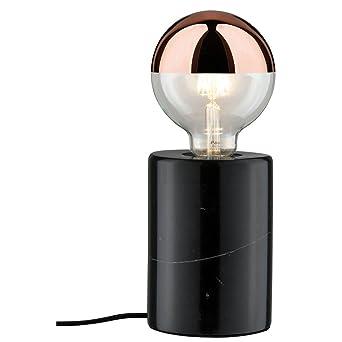 Tischleuchte Chesty Modern Glas Tischlampe Glasleuchte Tisch Schwarz Klar