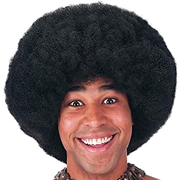Carnival Toys 02950 Josephine Negro Afro peluca En Caso